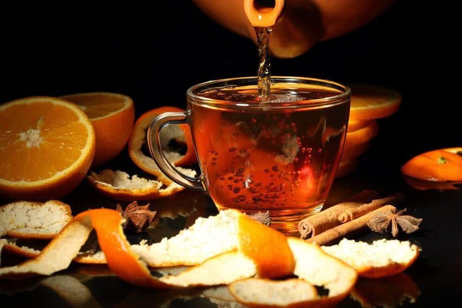 Benefícios do Chá da Casca de Laranja