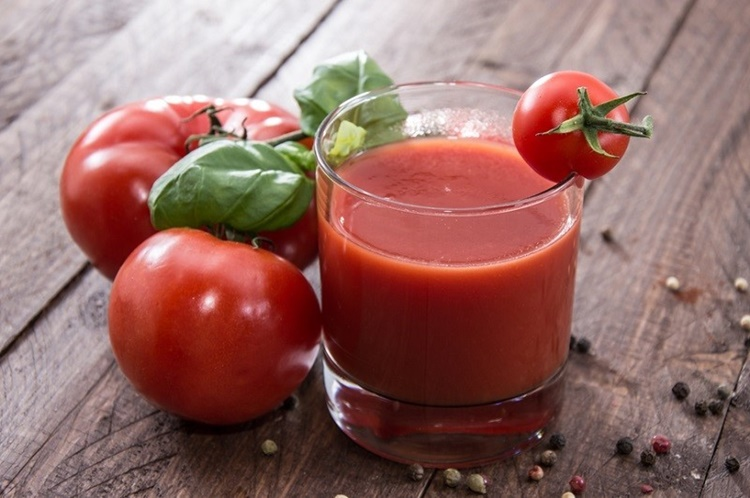 beneficio do suco de tomate