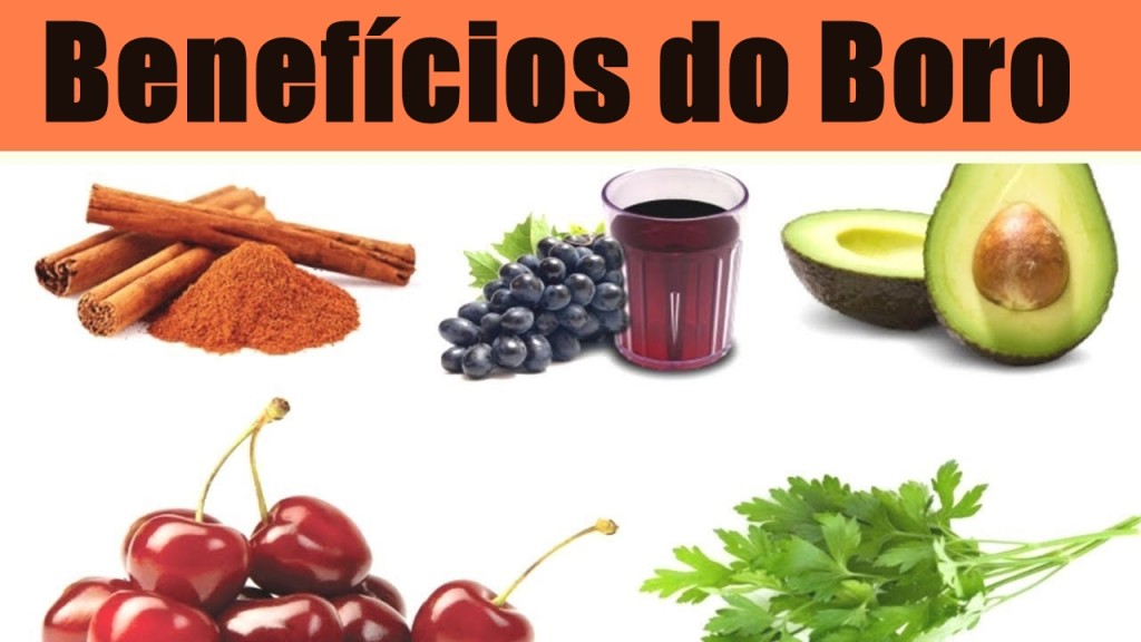 beneficios do boro
