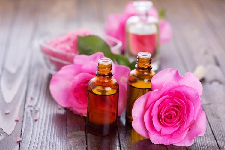 oleo de rosa