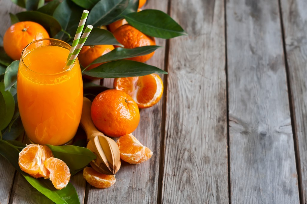 benefícios do suco de mexerica