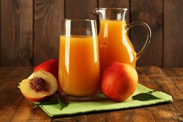 beneficios do suco de pêssego