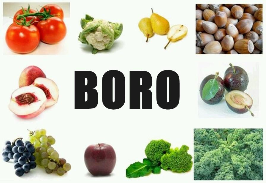 Boro: para que serve, alimentos, deficiência e como usar
