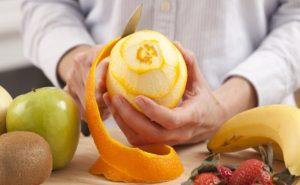 Benefício da Casca de laranja