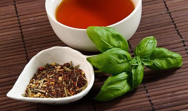 chá de tulsi