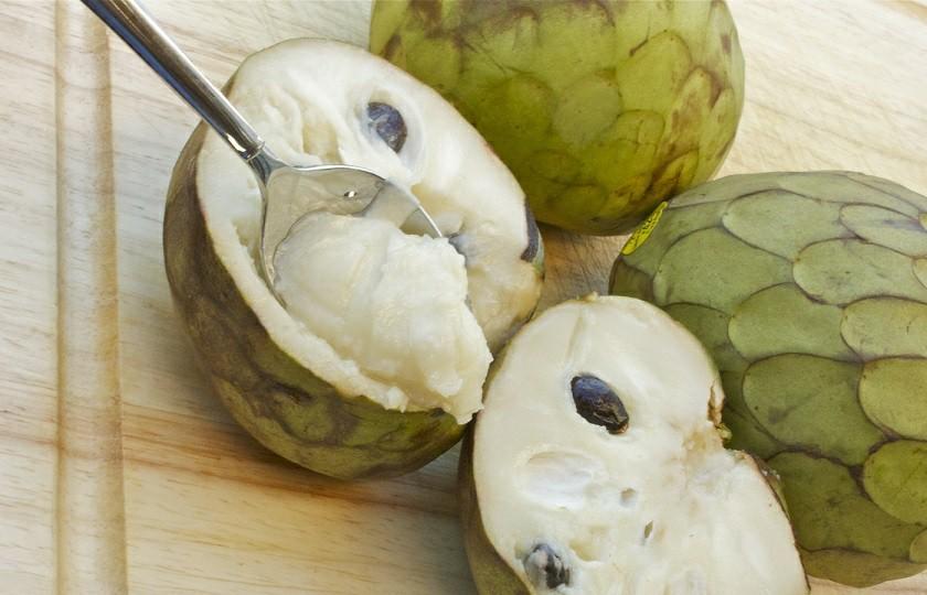 Cherimóia fruta: 40 benefícios, informação nutricional e malefícios