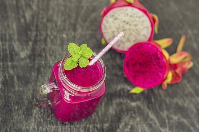 suco de benefícios pitaya