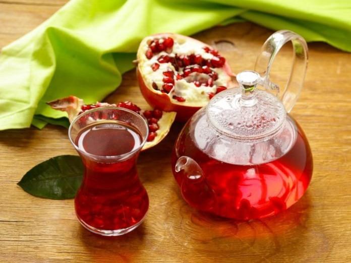 Benefícios do Chá da Casca de Romã