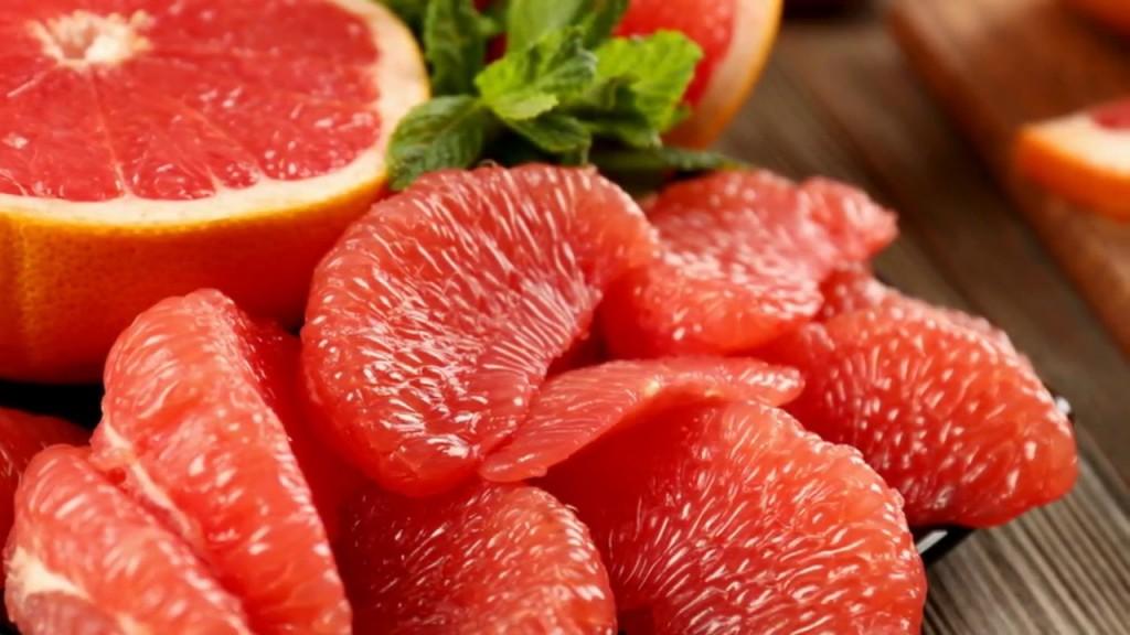 benefícios da toranja vermelha