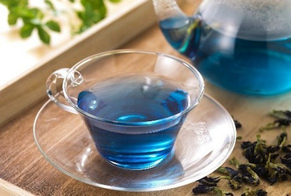 beneficios do cha azul