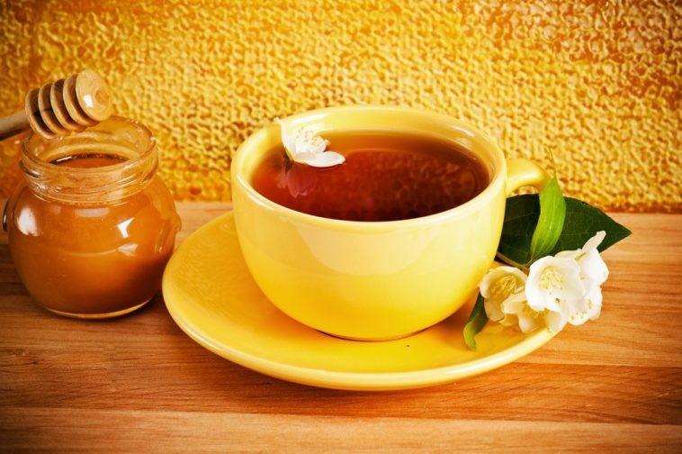 beneficios do cha mate com mel