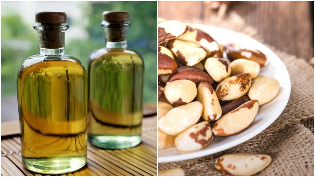 óleo de castanha do pará