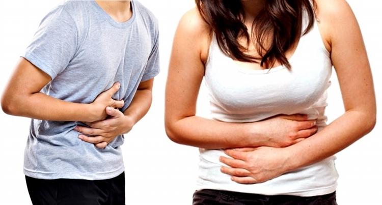 aliviar a dor de estomago
