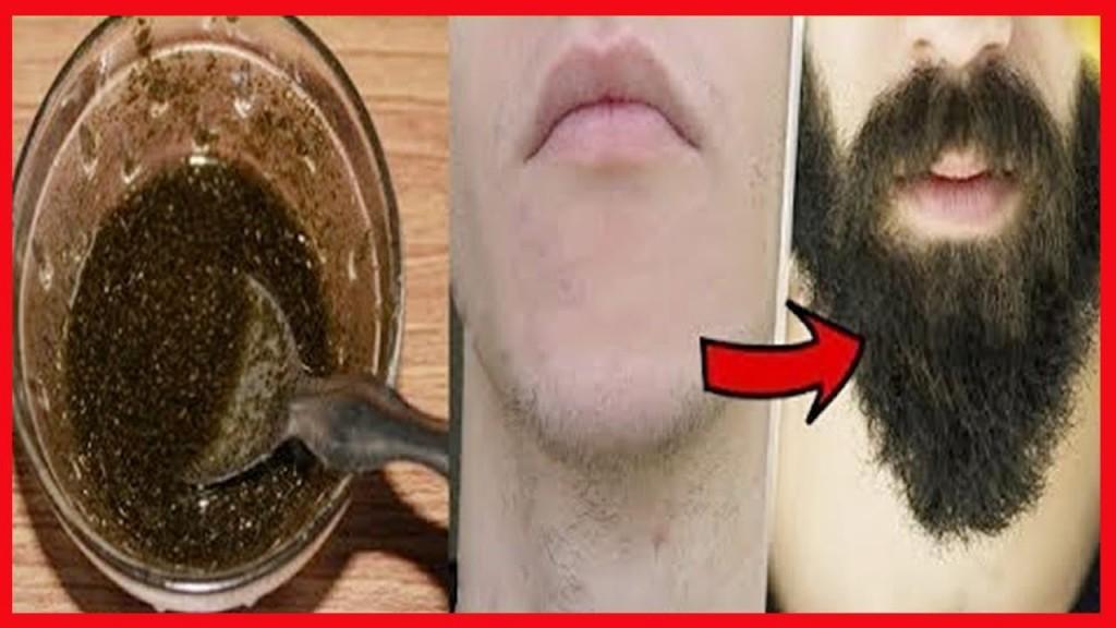 Receitas Para Crescer a Barba Rapidamente