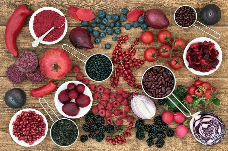 Antocianinas: O que são, funções, alimentos ricos, benefícios e usos
