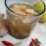Chá para combater a retenção de líquidos