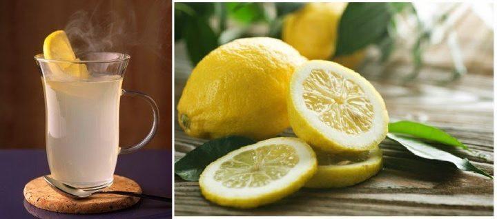 Beba Água Morna com Limão em Jejum Para Emagrecer
