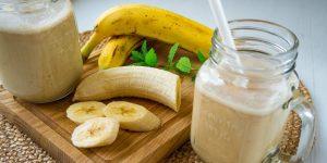 como fazer vitamina da banana